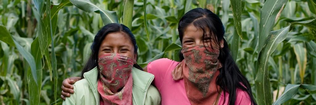 Zapatista women in Chiapas