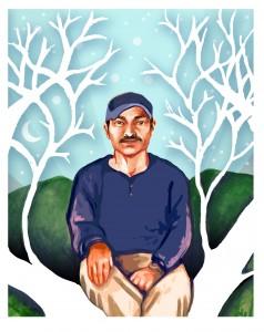 Galeano, the murdered Zapatita teacher, who died defending a Zapatista school in Chiapas, Mexico.