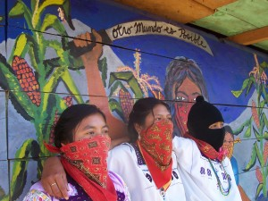 Zapatista women leaders in Chiapas, Mexico.