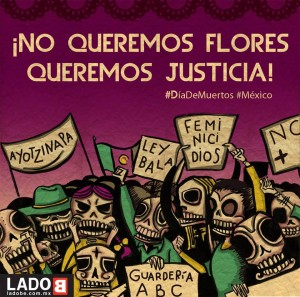 We don't want flowers; we want justice!