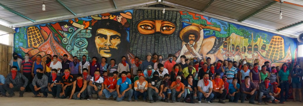 Schools for chiapas for Mural zapatista