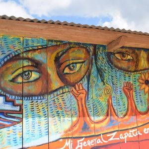 Galeano VIve mural